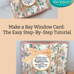 Make a Bay Window Card: The Easy Step-By-Step Tutorial