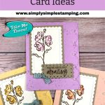 Stampin' Up! Color & Contour Card Ideas