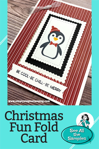 Want to see the Christmas Fun Fold Card I'm Making This Holiday?