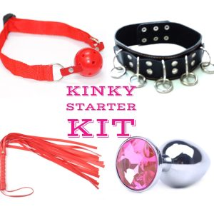 Red Kinky Couple Starter Kit