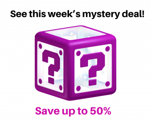 This week's mystery deal