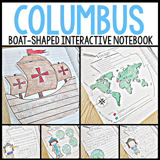 Columbus interactive notebook