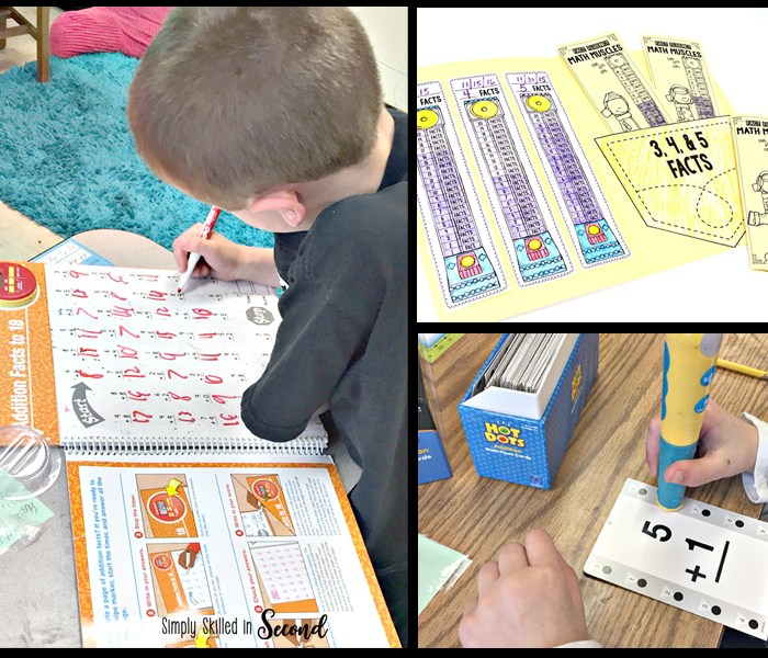 fact fluency, math fact fluency, timed fluency tests, guided math fact fluency