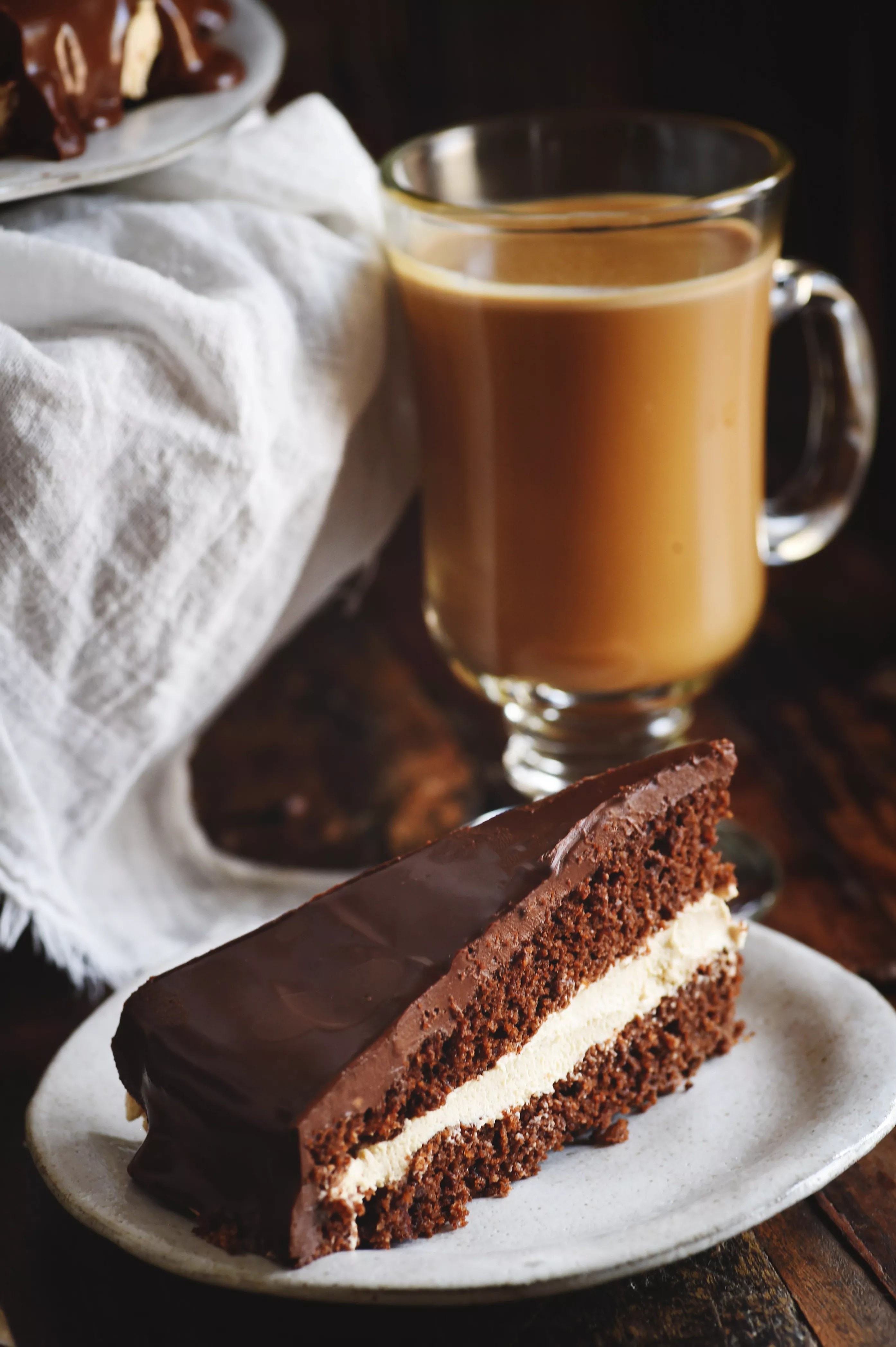 Low Carb Chocolate Latte Dream Cake Simply So Healthy