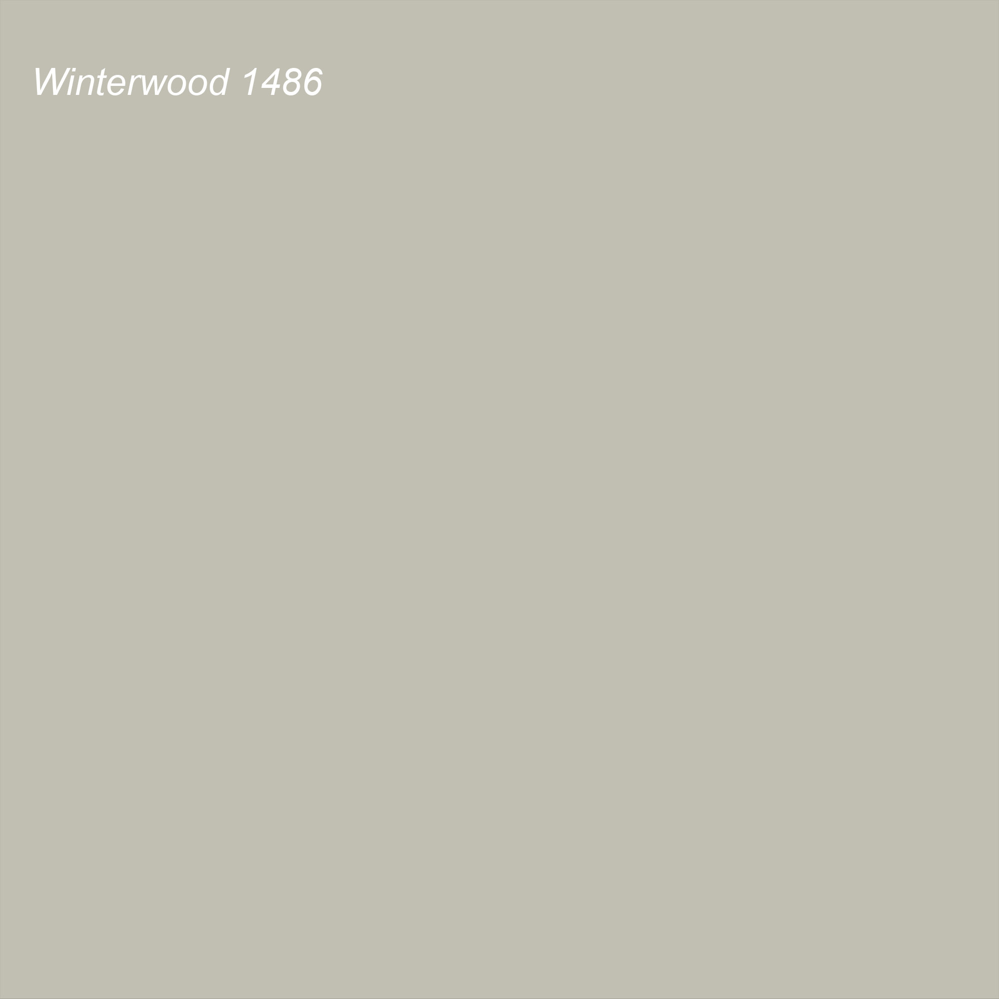 Benjamin Moore 2021 Color of the Year Suggested Accent Shade Winterwood 1486