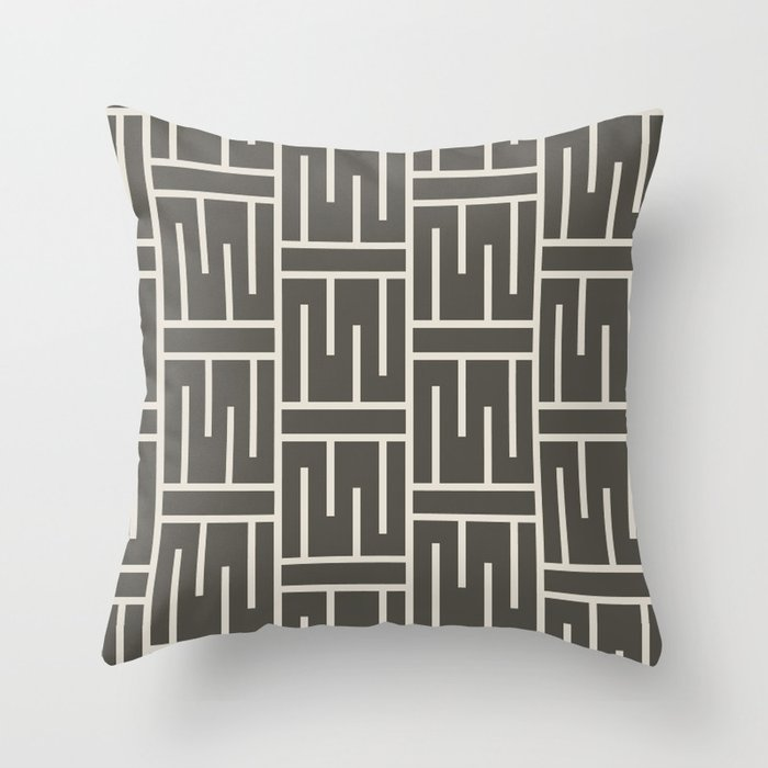 Solid Colors, Designs and Patterns on Home Decor in our Society6  Shop Inspired by Sherwin Williams 2021 Color of the Year Urbane Bronze SW 7048 and Accent Shades