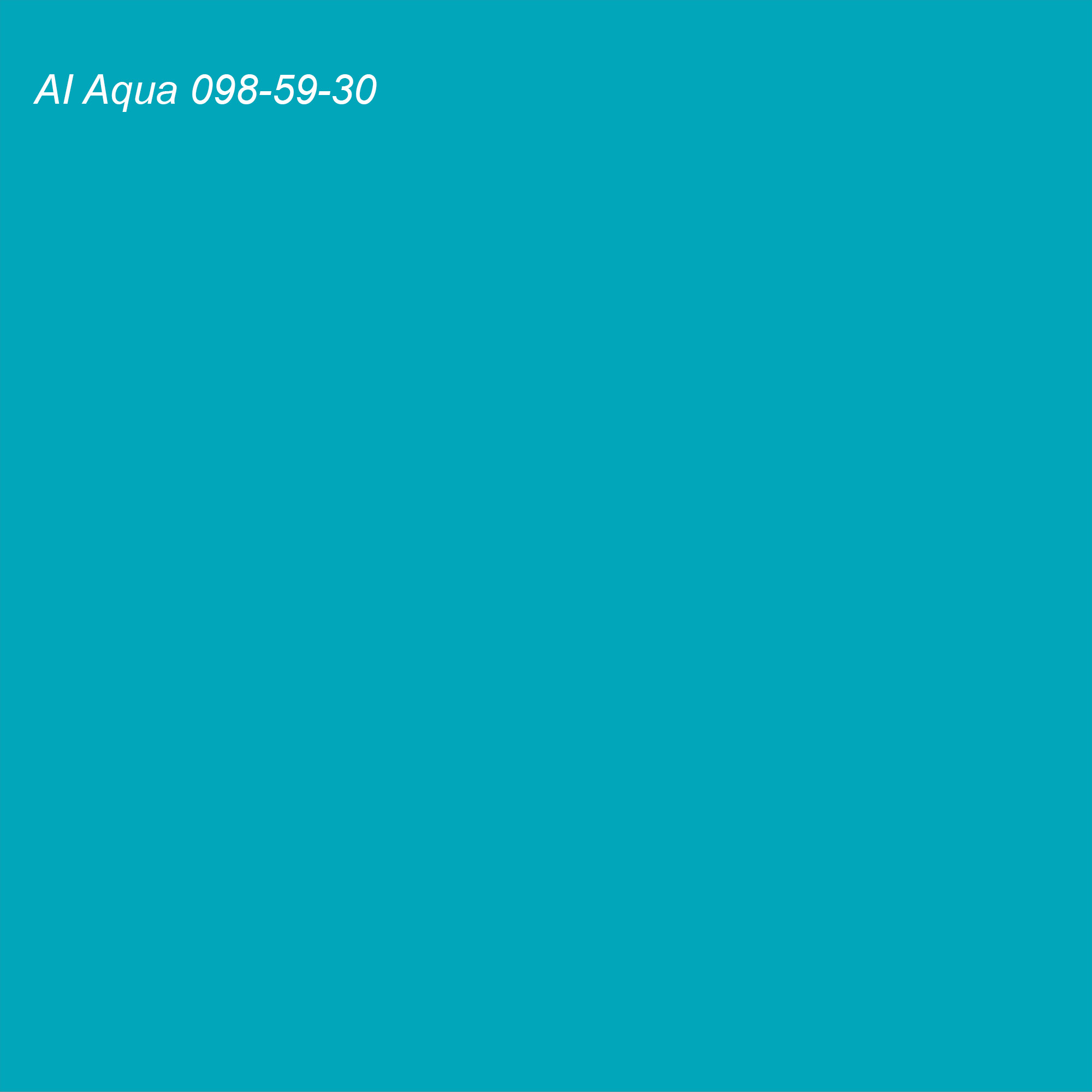 Coloro 2021 Color of the Year AI Aqua 098-59-30 (teal)