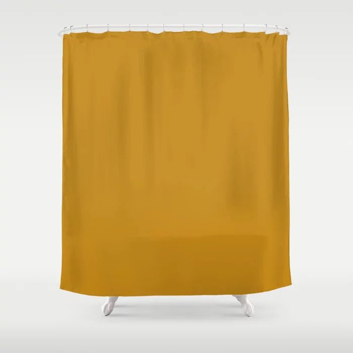 Solid Color Decorative Bath / Shower Curtains - Bathroom Decor