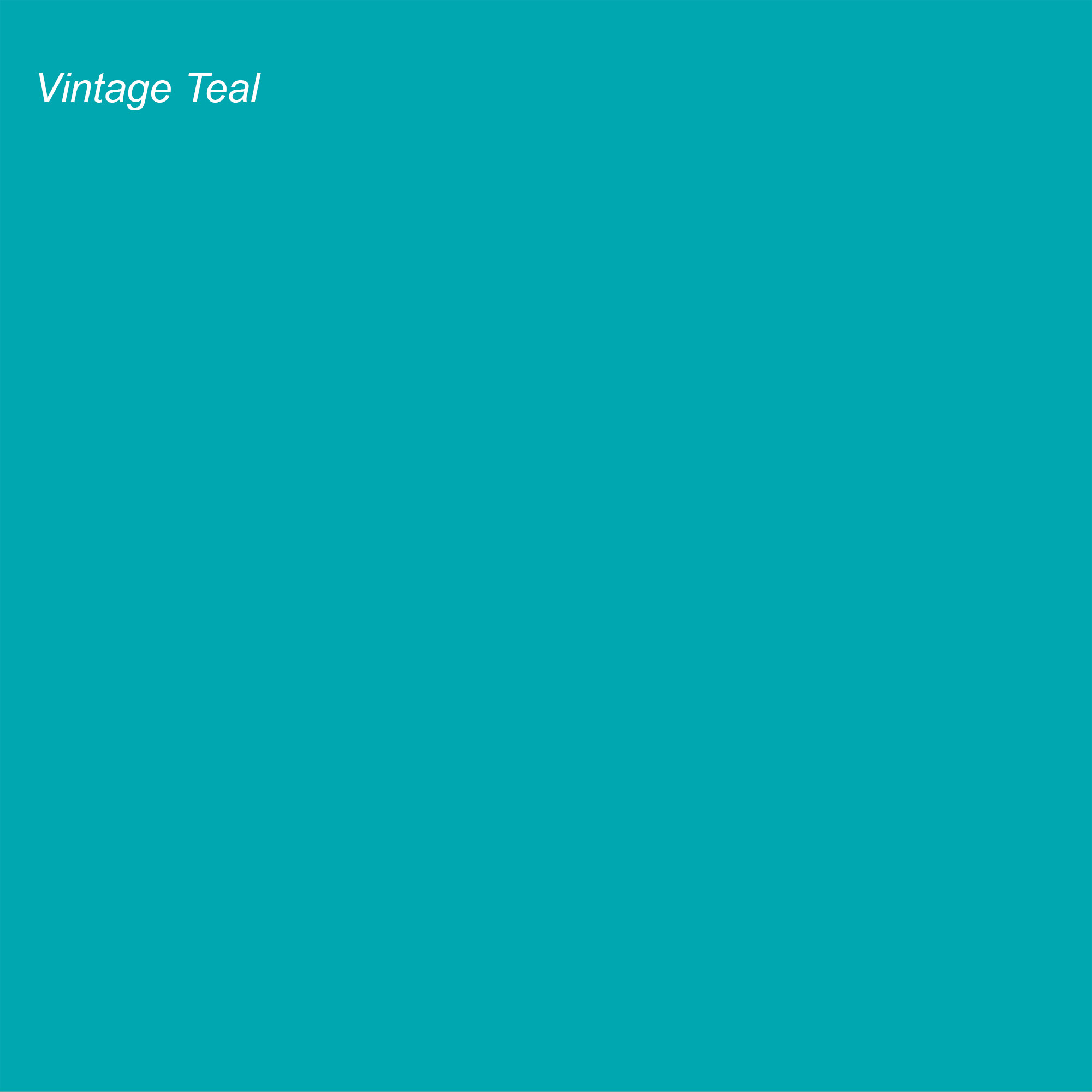 Rustoleum 2021 Color of the Year Suggested Accent Shade Vintage Teal