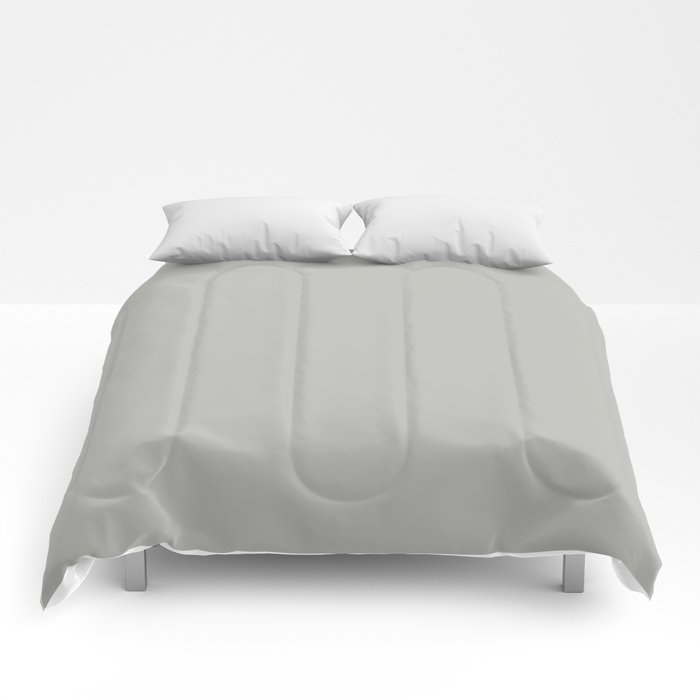 Stardust Gray Solid Color Pairs To Valspars 2021 Color of the Year Granite Dust 5006-1C Comforters