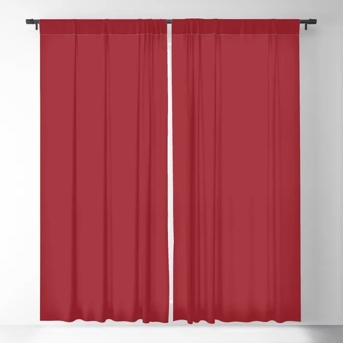 The Fire Within Red Solid Color 2021 Pairs Rustoleum's 2021 Color of the Year Satin Paprika Blackout Curtain