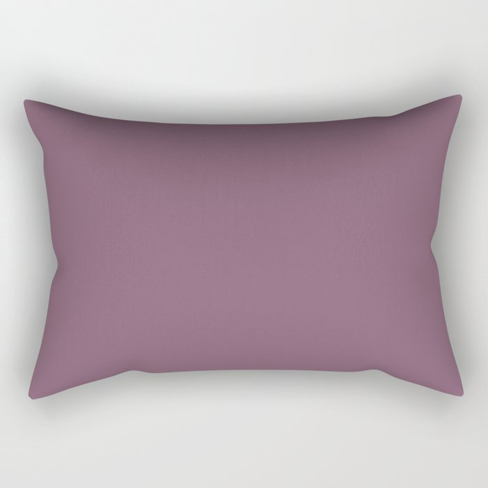 Jumping Jamboree Purple Solid Color Pairs To Behr's 2021 trending color Euphoric Magenta M110-7 Rectangular Pillow