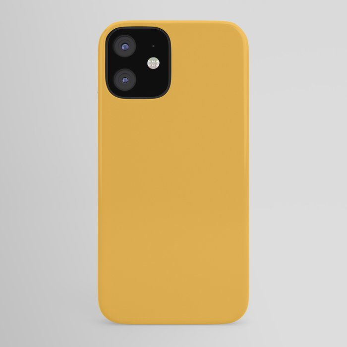Best Seller Bright Golden Yellow Inspired Coloro Mellow Yellow 034-70-33 iPhone Case