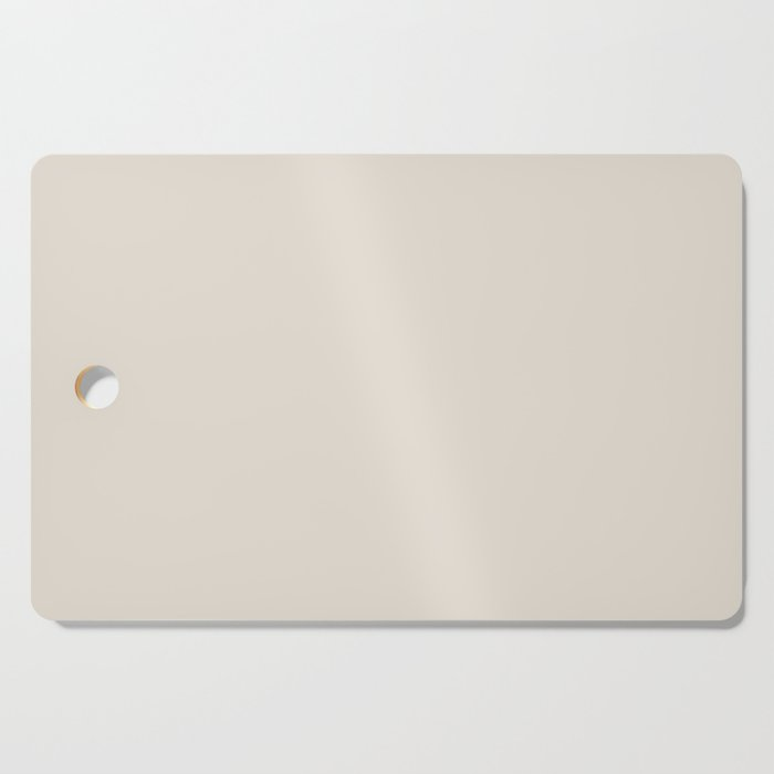 Best Seller Sherwin Williams Colors of 2019 Porcelain (Off White Cream Ivory) SW 0053 Solid Color Cutting Board