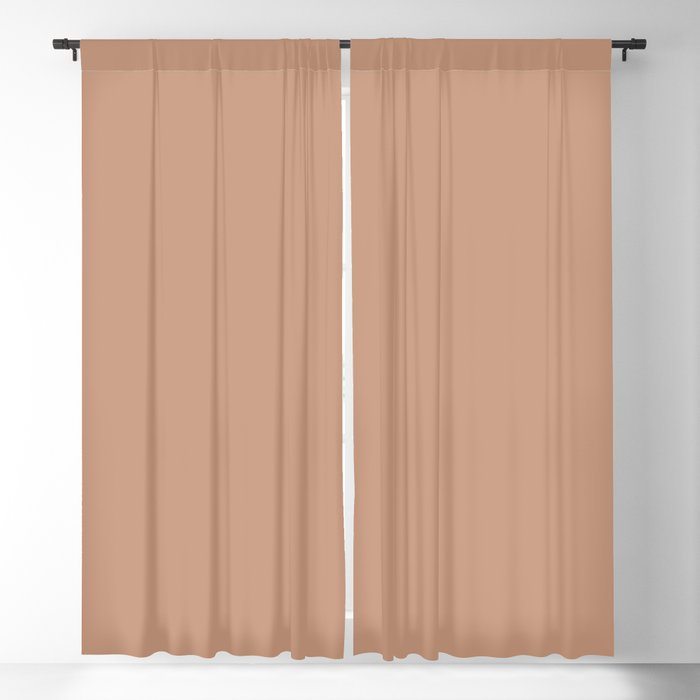 Medium Pink Solid Hue - 2022 Color - Shade Pairs Dunn and Edwards Chinook Salmon DET456 Blackout Curtain