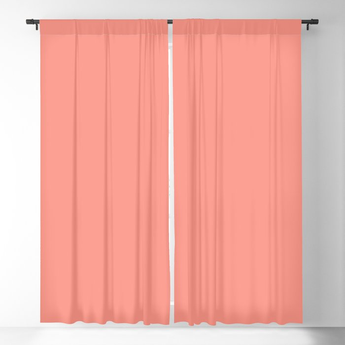 Pastel Pink Solid Hue - 2022 Color - Shade Dunn and Edwards Adobe Avenue DE5137 Blackout Curtain