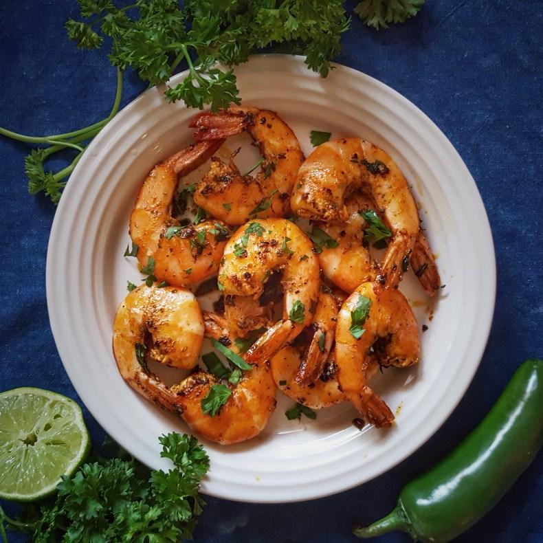 Simply Sophisticated Cooking   Camarones a la Mexicana