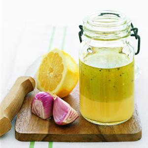 Basic Vinaigrette in a jar