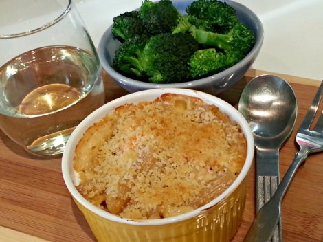 Lobster Mac-n-Cheese Dinner
