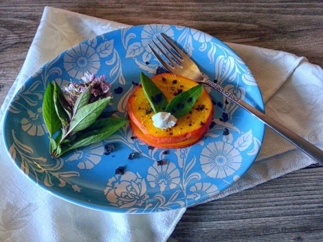 egg plate with beet salad