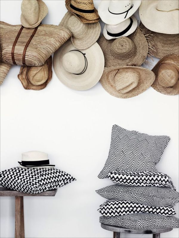 Unlimited Options for Storing and Organizing Hats // 18 Hat Organizing Ideas for Summer// simplyspaced.com