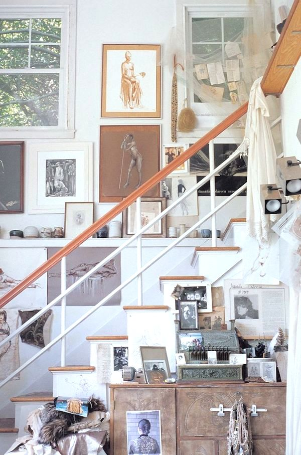Creating a Designated Corner or Room For Your Projects // 12 Creative Spaces for the Organized Artist // simplyspaced.com
