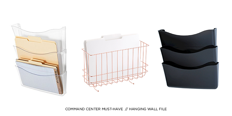 Command Center Must-Have: Hanging Wall File