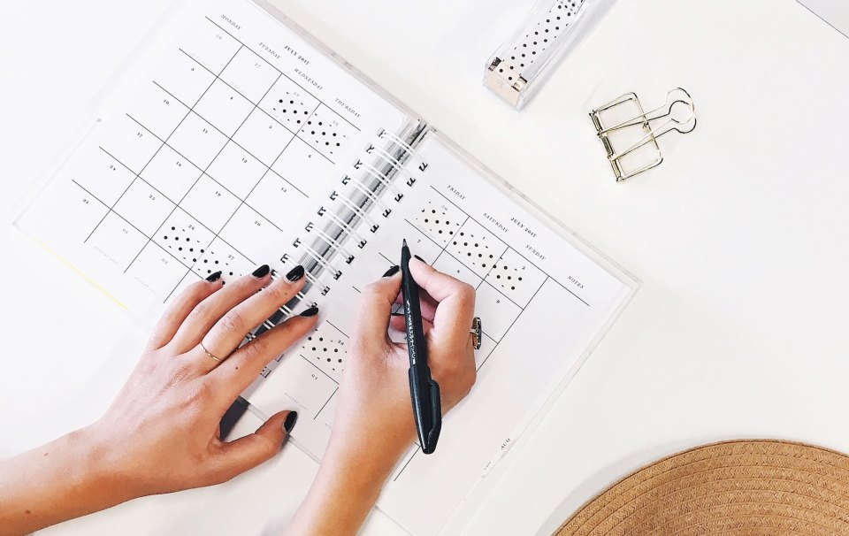 Productivity Tips for reaching your New Year's Resolutions