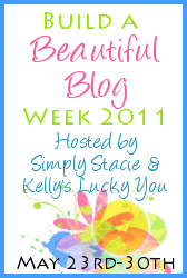Build a Beautiful Blog Week
