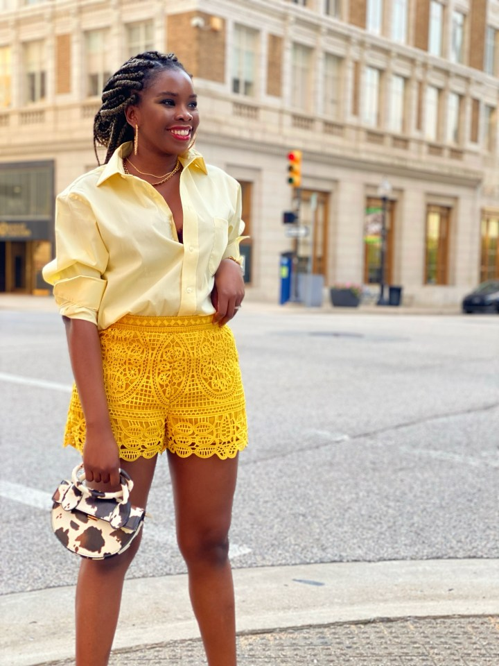 How to style menswear in a feminine way.