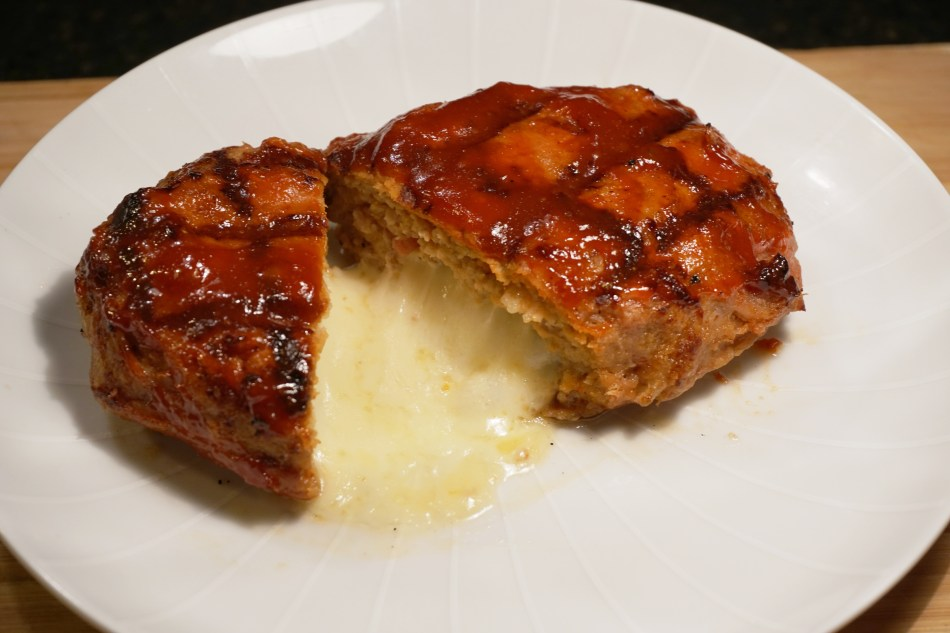 Grilled Mini Meat Loaf