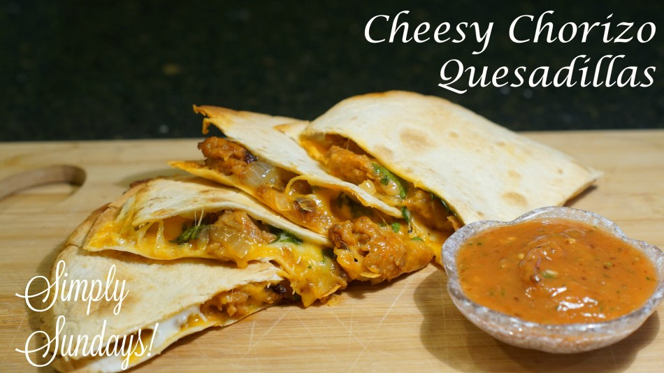 cheesy-chorizo-quesadillas