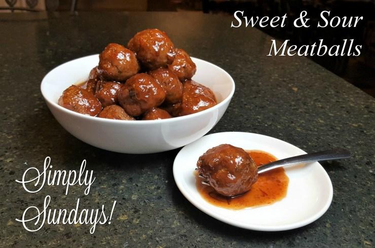 Sweet & Sour Meatballs