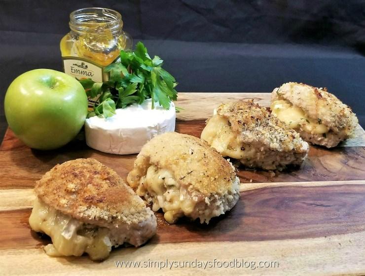 Apple and Brie Stuffed Pork Chop FB