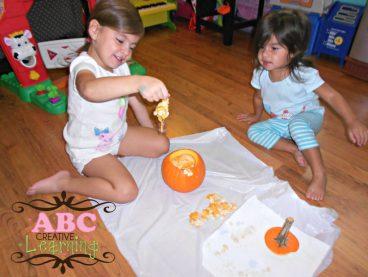Pumpkin Seeds Experiment