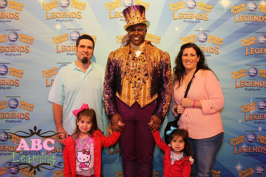 Ringling Bro. Ringmaster Meet and Greets
