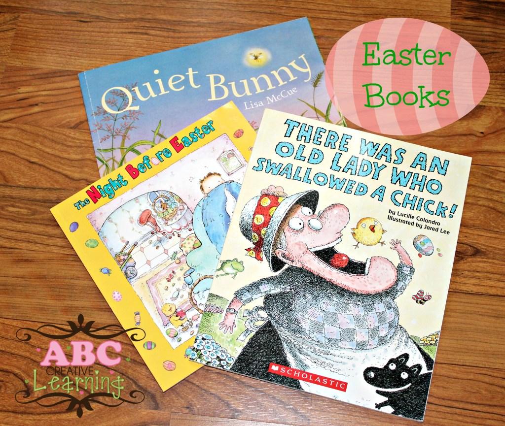 Easter Book April Book BAsket