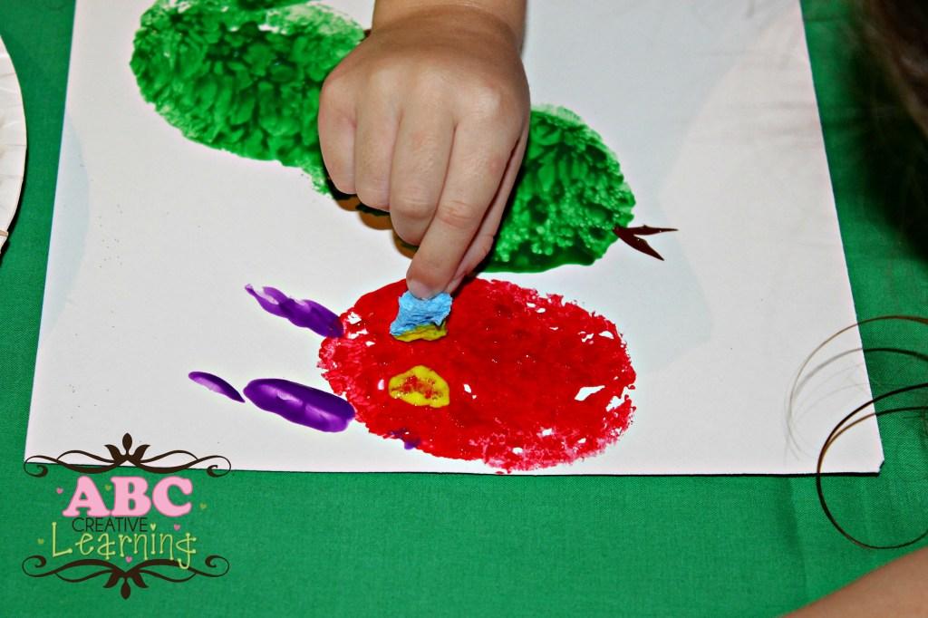 Caterpillar Kids Learning Craft