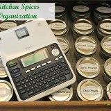 Kitchen Spices Organization