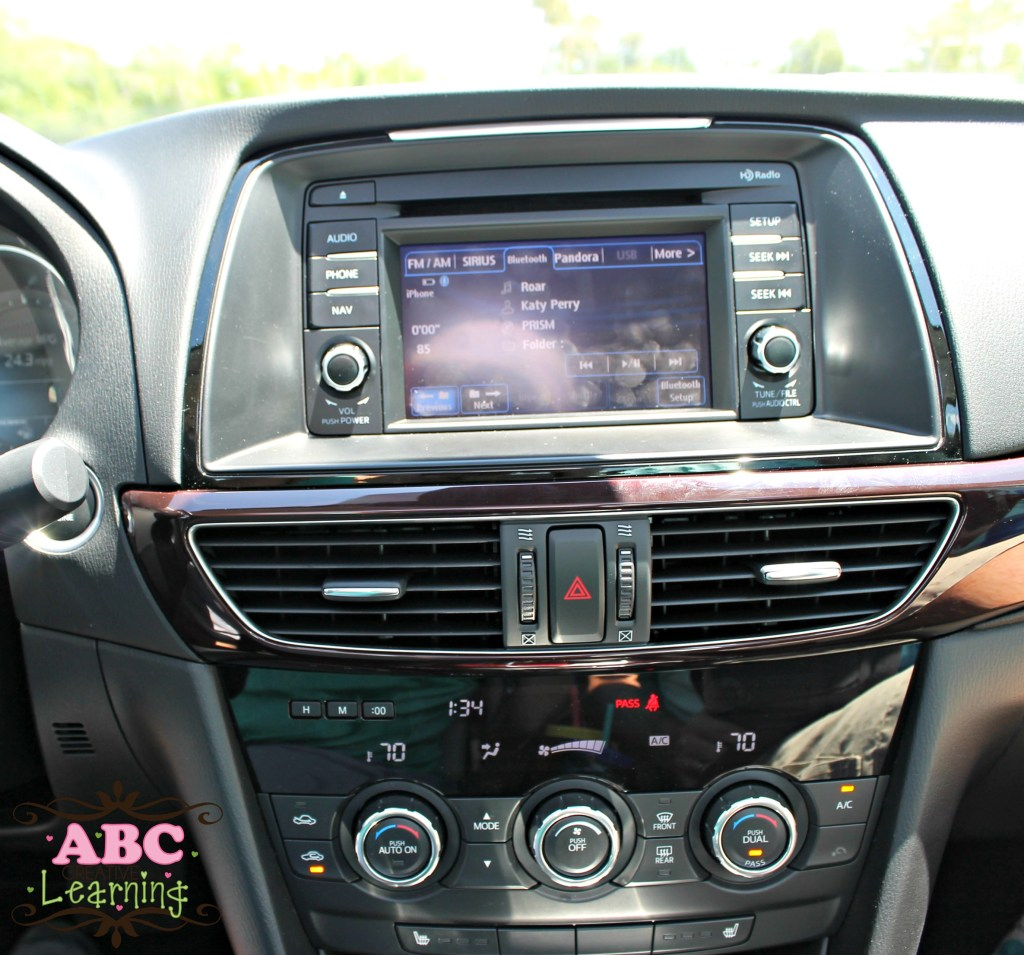 Mazda6 Radio System Vehicle Review