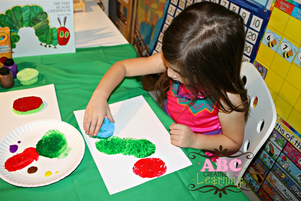 The Very Hungry Caterpillar Arts and Craft