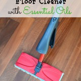 DIY Natural Floor Cleaner with Essential Oils