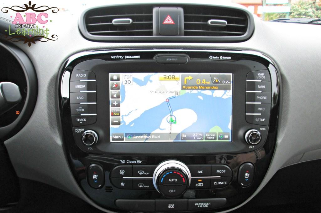 Kia Soul Navigation System Car Review