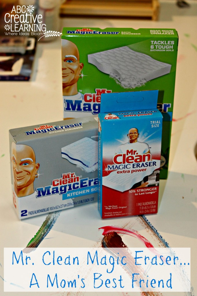 Mr. Clean Magic Eraser... A Mom's Best Friend