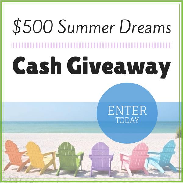 $500 Summer Dreams Giveaway