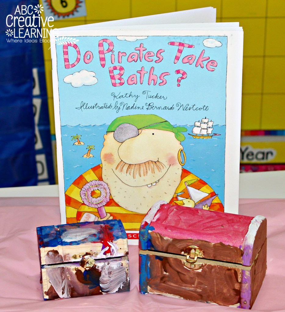Treasure Chest Do Pirates Take Baths Book Activity
