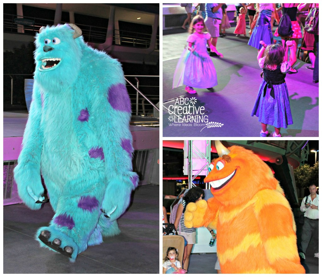 Mickey's Not So Scary Halloween Party Dance Party with Monsters Inc.