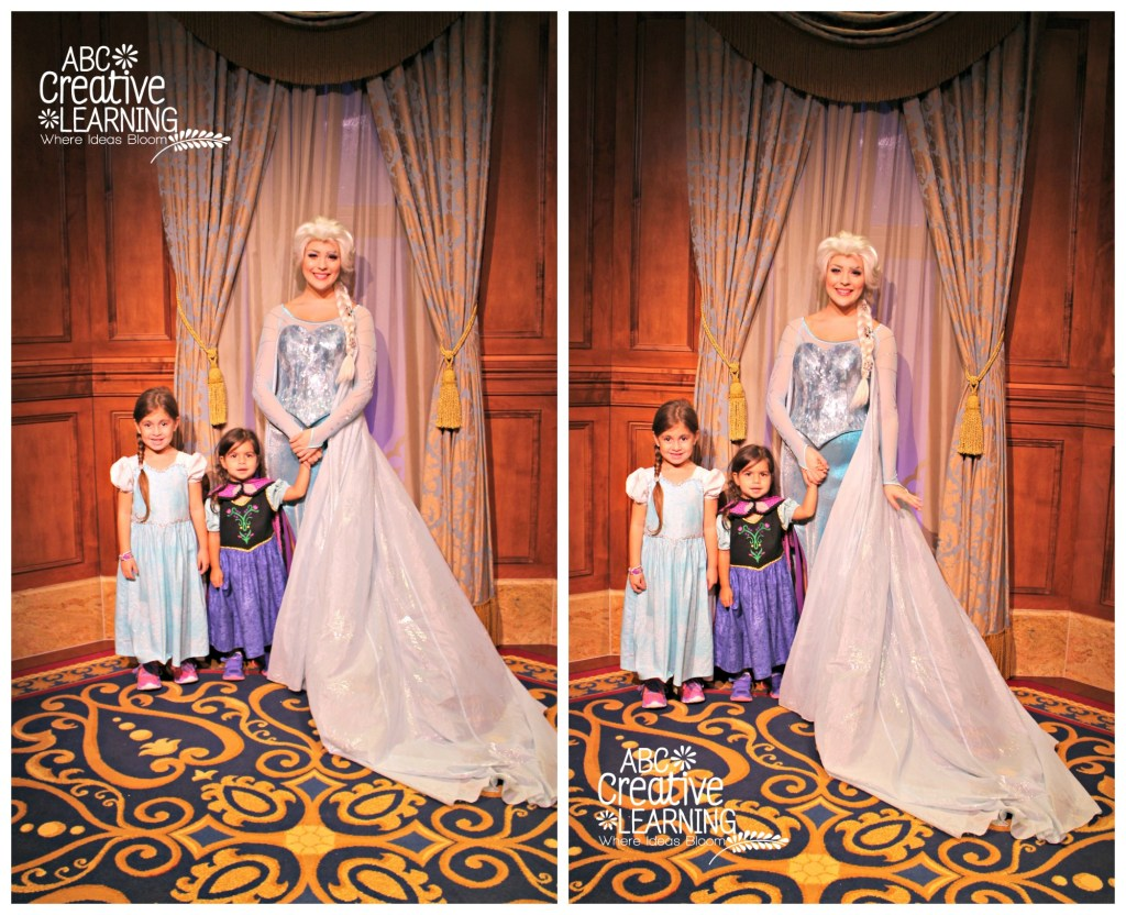 Princess Anna and Queen Elsa at Mickey's Not So Scary Halloween Party