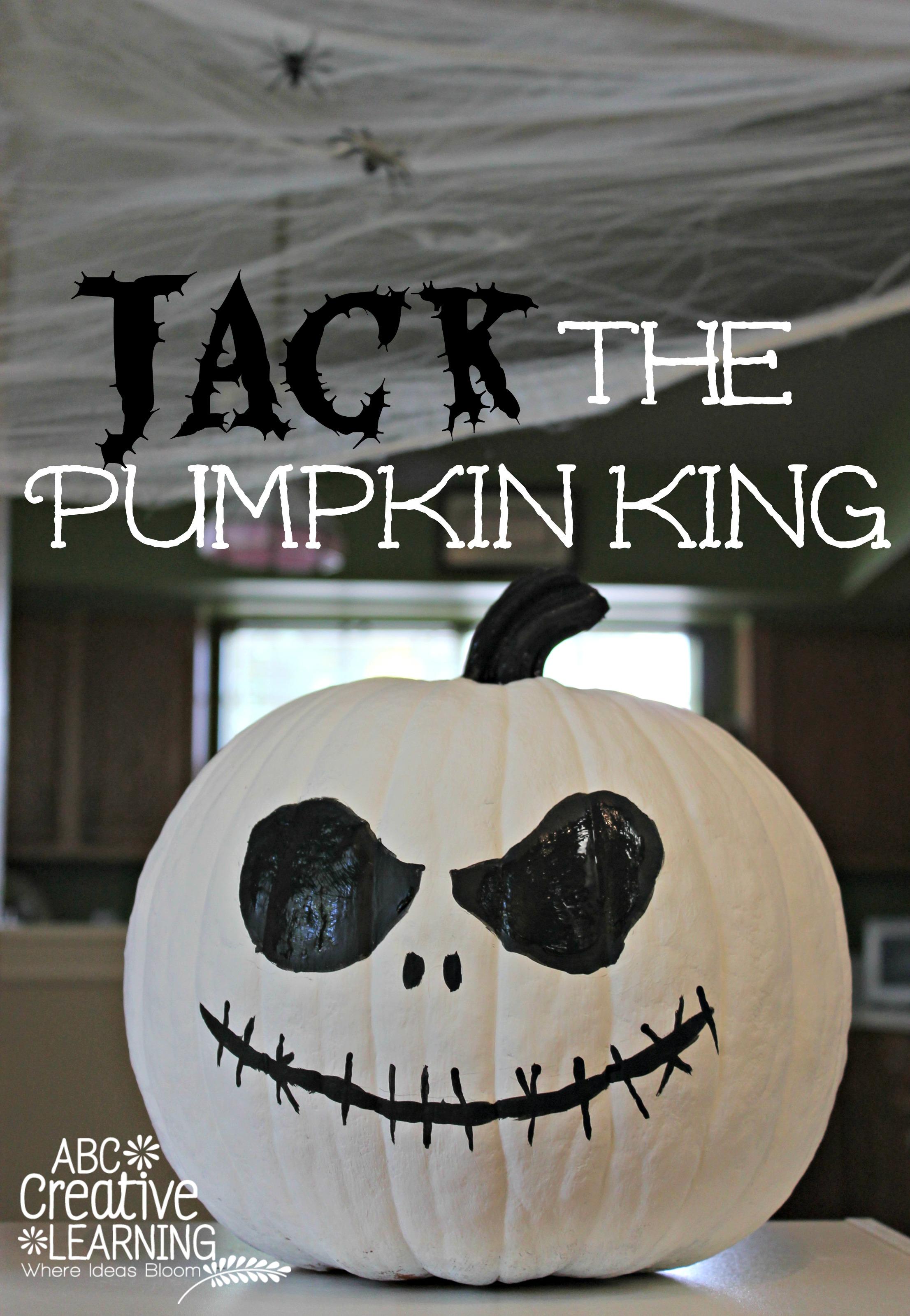 Jack Skellington Pumpkin No Carve Craft Simply Today Life