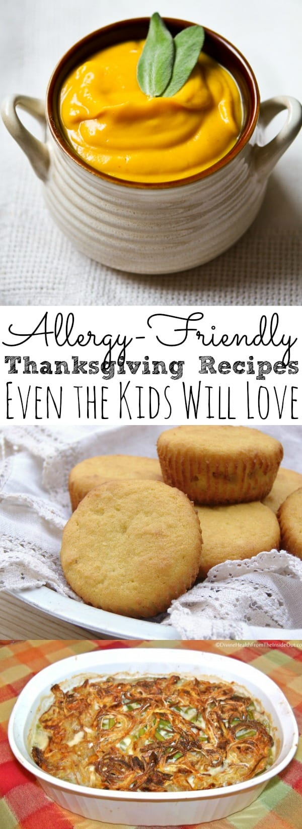 Allergy Friendly Thanksgiving Recipes